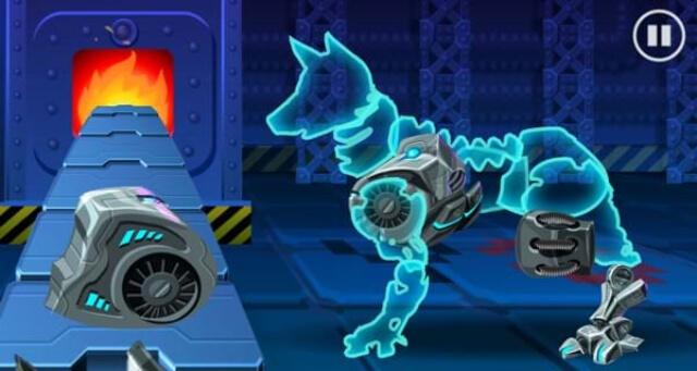 choi game lap rap robot sieu nhan