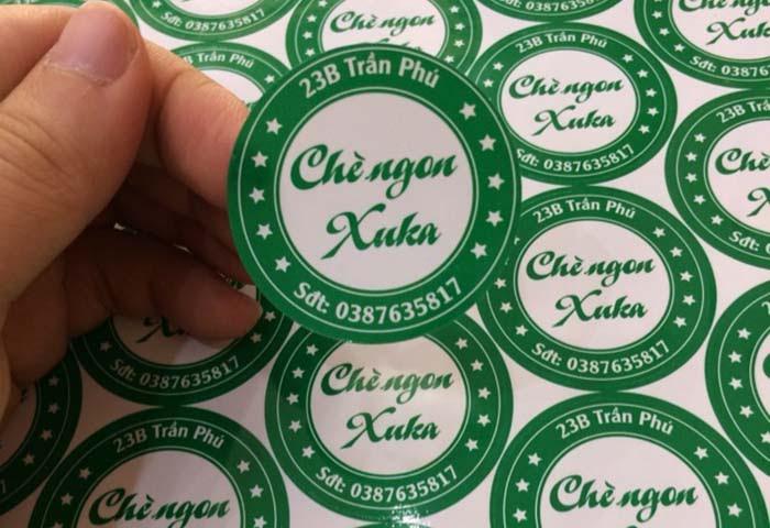 In sticker dán là hình thức quảng cáo hiệu quả dành cho các doanh nghiệp